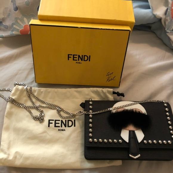 cedb2cb5d6e8 Fendi Handbags - Authentic Fendi Karlito Wallet on a chain bag
